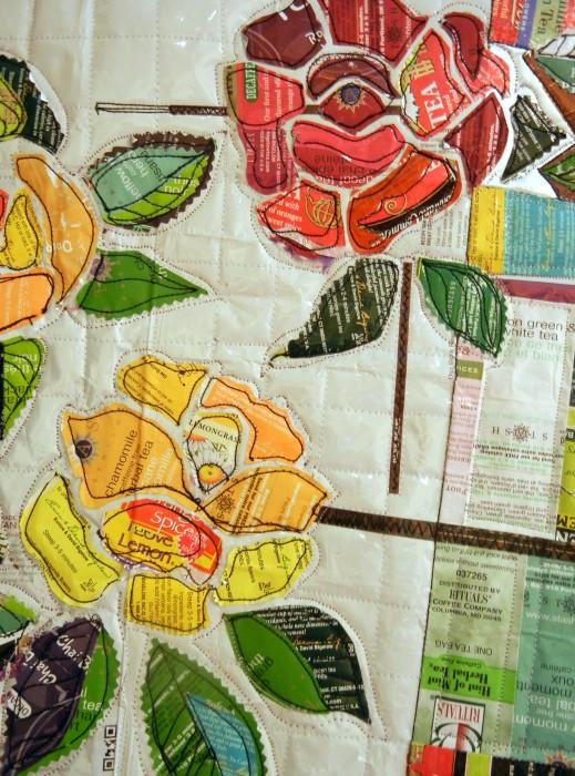 tea rose-detail