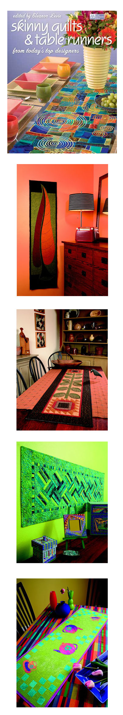 Skinny Quilts & Table Runners