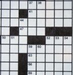 Quilt Blocks Go Wild!--a crossword puzzle